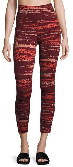 The North FaceThe North Face Motivation Strappy Printed Leggings, Red