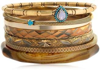 Iosselliani Set Of 7 Bangle Bracelets