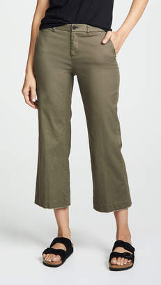 ATM Anthony Thomas Melillo Enzyme Wash Cropped Boyfriend Pants