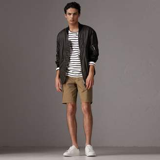 Burberry Cotton Twill Chino Shorts