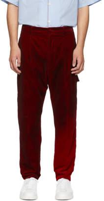 Golden Goose Red Velvet Fenix Trousers