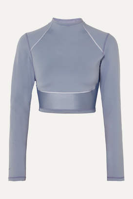 Nike City Ready Reflective Stretch Top - Light blue