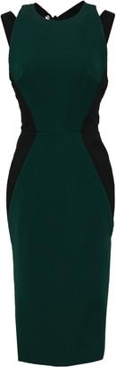 Victoria Beckham Cutout Stretch-gabardine Dress