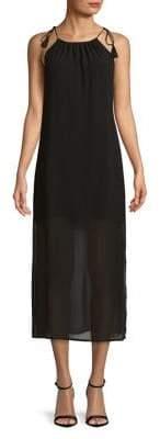 Kensie Halterneck Midi Dress