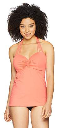 CoCo Reef Women's Tankini Top Swimsuit with Convertible Neckline