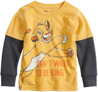 Simba Disneyjumping Beans Disney's The Lion King Toddler Boy Mock Layer Graphic Tee by Jumping Beans