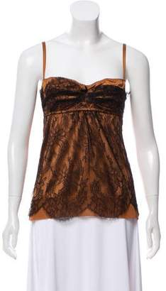 Dolce & Gabbana Lace Sleeveless Top