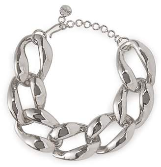 5e391d5ec Misho - Chunky Chain Choker Necklace - Womens - Silver