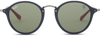 Ray-Ban Rb8305 square-frame mirror lens sunglasses
