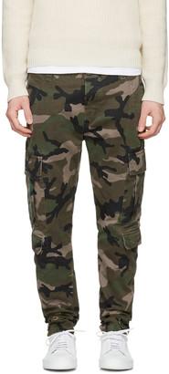 Valentino Green Camo Cargo Trousers $1,350 thestylecure.com