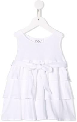 Douuod Kids layered frill blouse