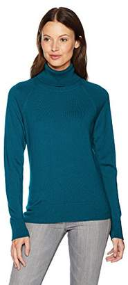 Pendleton Women's Merino Ribneck Turtleneck Sweater