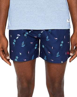 Ted Baker Gusty Print Swim Shorts
