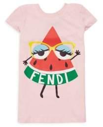 Fendi Toddler's, Little Girl's & Girl's Watermelon Graphic Tee