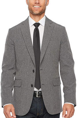 STAFFORD Stafford Life In Motion Stretch Slim Fit Tonal Sport Coat