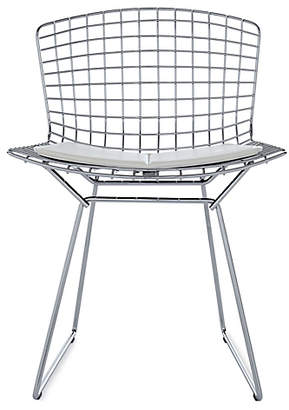 Design Within Reach Bertoia Side Chair with Vinyl Seat Pad