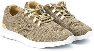 Michael Kors Kids lace-up mesh sneakers