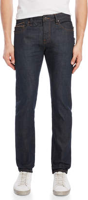 Cult of Individuality Wax Rocket Slim Double Zip Jeans