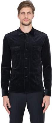 Salvatore Piccolo Stretch Corduroy Cotton & Modal Shirt