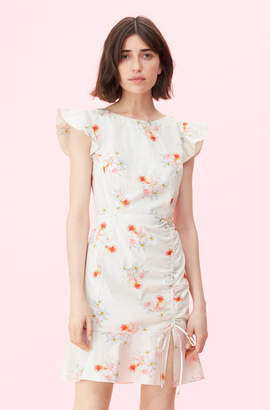 Rebecca Taylor La Vie Catrine Ruched Dress