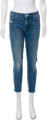 Mother Mid-Rise Graffiti Girl Jeans