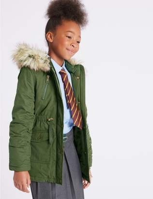 Marks and Spencer Cotton Rich Parka (3-16 Years)