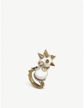 Gucci Double glass-bead ring