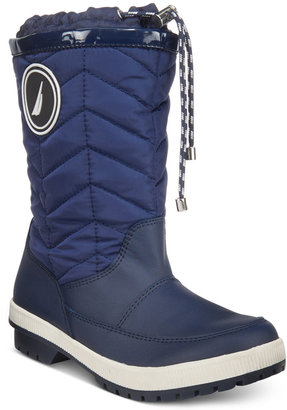 Nautica Becher Quilted Cold-Weather Boots $69 thestylecure.com