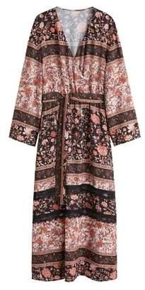 MANGO Floral vintage dress