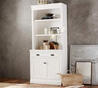 Pottery Barn Aubrey Double Bookcase