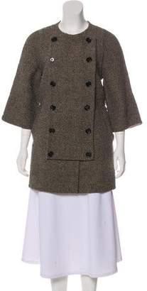 3.1 Phillip Lim Crew Neck Short Coat