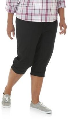 Lee Riders Women's Plus Utility Cargo Skimmer Pant