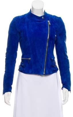 Barbara Bui Suede Zip-Up Jacket w/ Tags