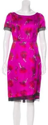 Thakoon Silk Knee-Length Dress w/ Tags