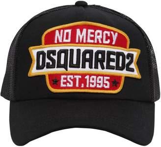 DSQUARED2 No Mercy Cotton & Mesh Trucker Hat