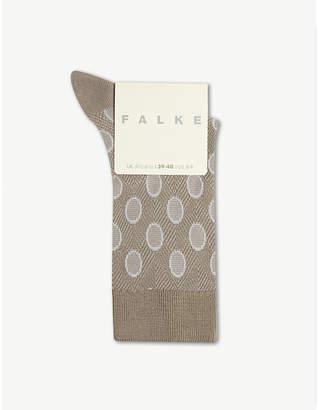 Falke Maki circle-print knitted socks