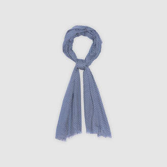 Sandro Micro-print scarf