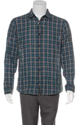 Michael Kors Linen-Blend Shirt