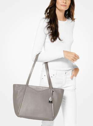 c331a19f120d MICHAEL Michael Kors Gray Large Tote Bags - ShopStyle