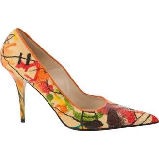 Loriblu Multicolour Plastic Heels