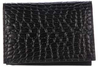 Neiman Marcus Embossed Wallet w/ Tags