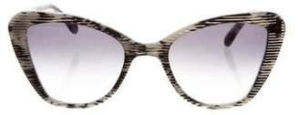 Prism Printed Cat-Eye Sunglasses