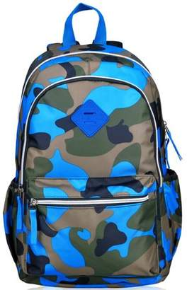 Fashionable Vbiger Schoolbag Camouflage Sports Backpack for Teenages