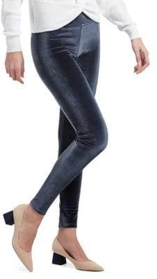 Hue Stretch Velvet Leggings
