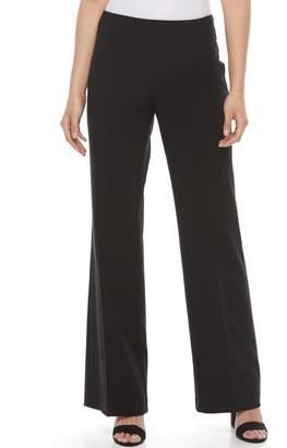 Dana Buchman Women's Wide-Leg Pull-On Pants