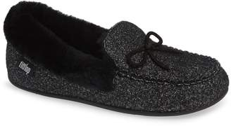 FitFlop Clara Genuine Shearling Lined Moccasin