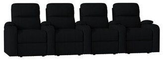 Octane Seating Edge XL800 Leather Home Row seating (Row of 4) Octane Seating