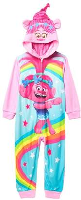 AME Trolls Poppy Hooded Fleece Sleeper (Little Girls & Big Girls)