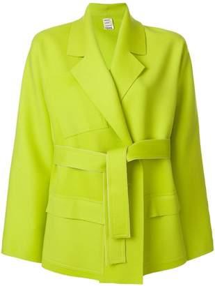 Maison Rabih Kayrouz belted short coat