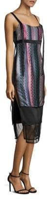 Elizabeth and James Gia Printed Silk Dress